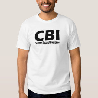 CBI (California Bureau of Investigation ) T Shirt