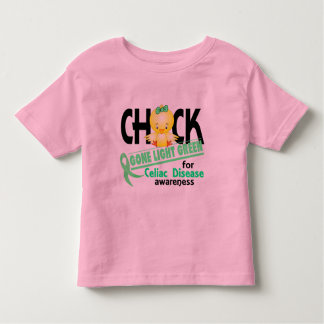 Celiac Disease Chick Gone Light Green 2 Tee Shirts