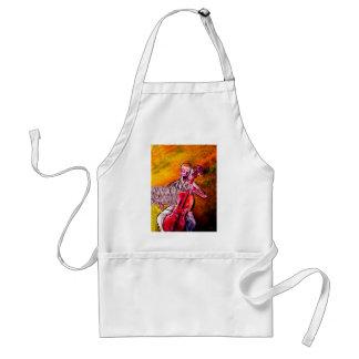 cello musician music orchestra design standard apron