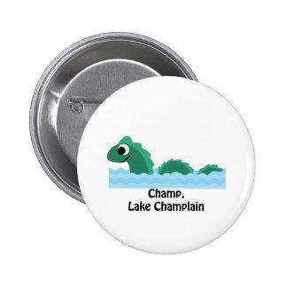 Champ, Lake Champlain 2 Inch Round Button