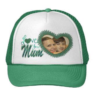 Chapeaux de photo du jour de mère pour des mamans casquette