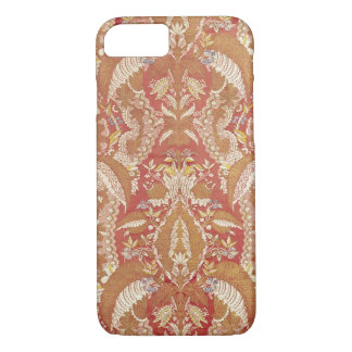 Chasuble, lace patterned silk, French, c.1720 iPhone 7 Case