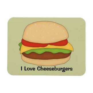 Cheeseburger Premium Magnet