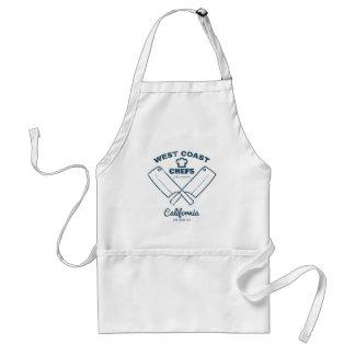 Chefs Vintage T-shirt graphics print Standard Apron