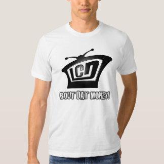 Chemise adaptée par affichage à cristaux liquides tee-shirt