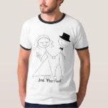 Chemise mariée de lune de miel de KRW juste Tshirts