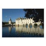 Chenonceau Chateau, River Cher, Loir-et-Cher, 2 Art Photo