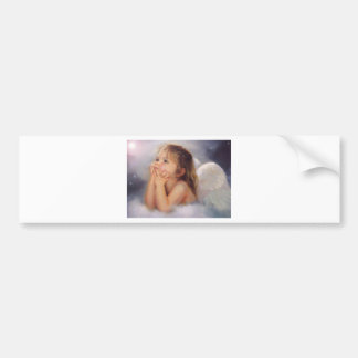 Cherub Angel Bumper Sticker