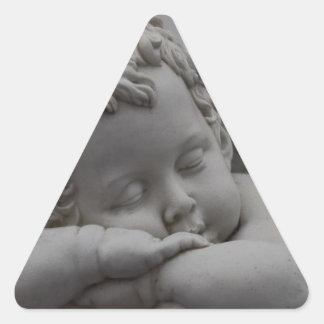 Cherub Triangle Sticker