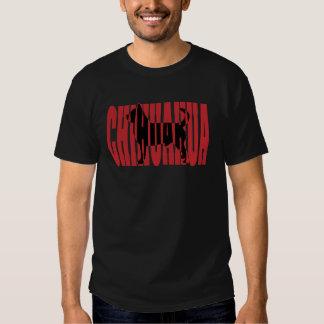 Chihuahua silhouette tee shirt