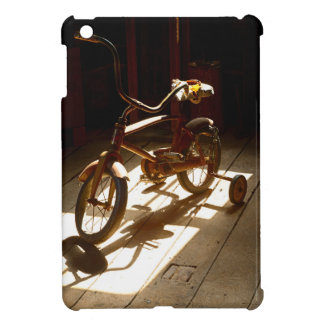 Child bicycle at the former grist mill cover for the iPad mini