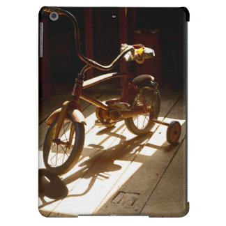 Child bicycle at the former grist mill iPad air cover