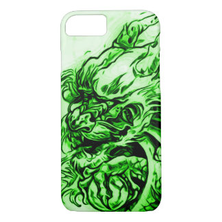 Chinese Earth Dragon Art Nouveau iPhone 7 Case