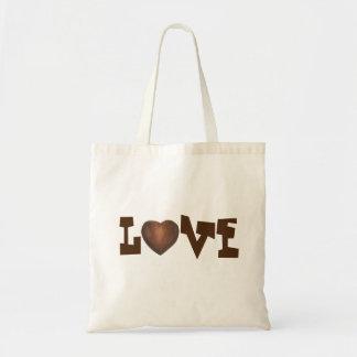 Chocolate Heart LOVE Valentine's Day Valentine Bag