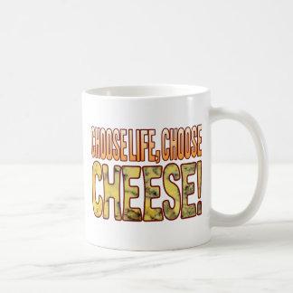 Choose Life Blue Cheese Classic White Coffee Mug
