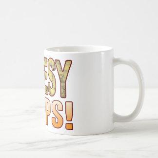 Chops Blue Cheesy Classic White Coffee Mug