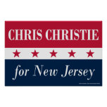 Chris Christie for New Jersey Poster
