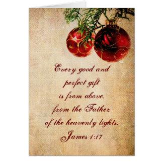 Christian Scripture - Customized Christmas Card