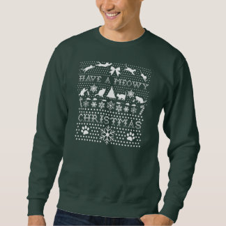 Christmas Cats Pull Over Sweatshirts
