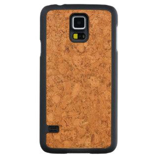 Chunky Natural Cork Wood Grain Look Maple Galaxy S5 Case