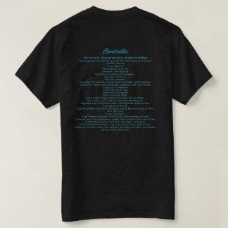 Cinderella ballet cast shirt- black adult tees