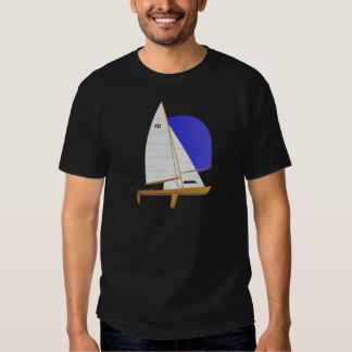 Classic Flying Dutchman Sailboat Tee Shirts