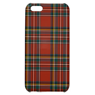 Classic Red Royal Stewart Tartan Pattern iPhone 5C Covers