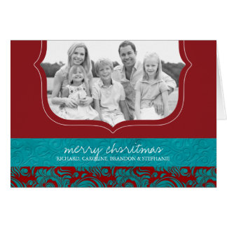 Classy Christmas Photo Greeting Card
