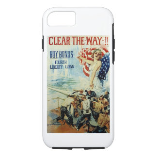 Clear the Way!! - Fourth Liberty Loan iPhone 7 Case