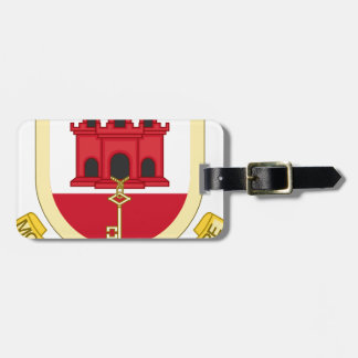 Coat_of_Arms_of_Gibraltar Tag For Luggage