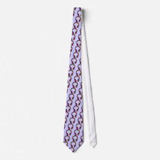 color dj headphone tie