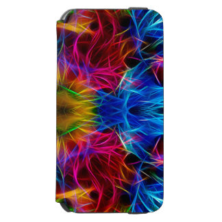Colorful abstract Pattern Case Incipio Watson™ iPhone 6 Wallet Case