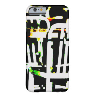 Colorful Abstract Table and Chairs iPhone Case