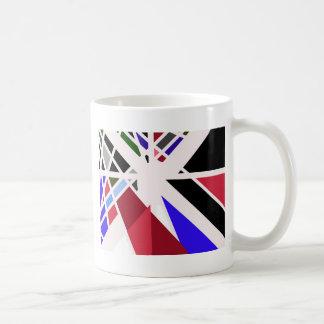 Colorful decorative design by Moma Classic White Coffee Mug
