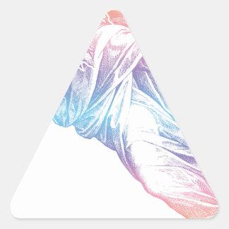 Colorful God Triangle Sticker