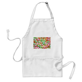 Colorful miniature marshmallow print standard apron