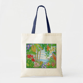 Colors of Paradise Budget Tote Bag