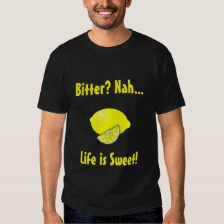 Conception de citron amer pour les hommes t-shirt