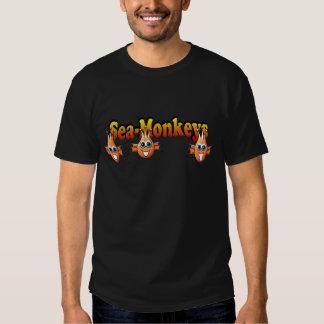 Conception de Monkees de singes de mer Tshirts