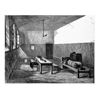 Condemned Cell Newgate Postcard