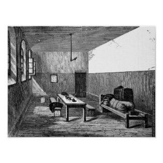 Condemned Cell Newgate Poster