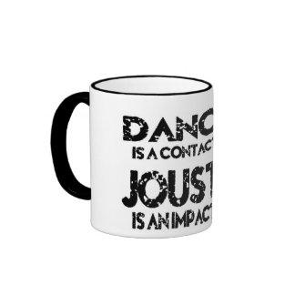 Contact Sports vs Impact Sports Ringer Coffee Mug