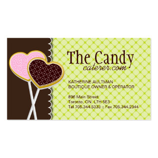 Cookie Pops Business Cards