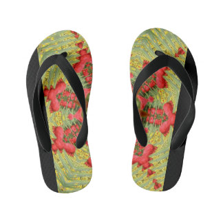 Cool Abstract Tulip Flip-Flop Kid's Flip Flops