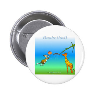 Cool Basketball gifts for kids 2 Inch Round Button