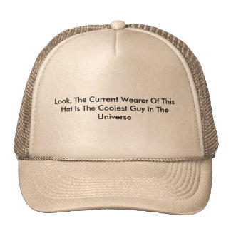 Cool Cap Trucker Hat