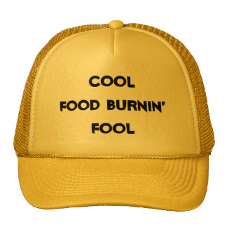Cool Food Burnin' Fool hat