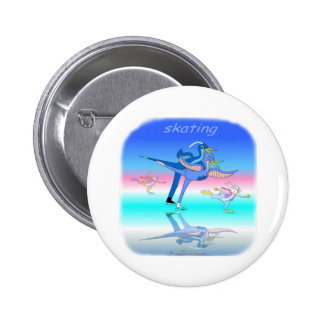 Cool skating gifts for kids 2 inch round button