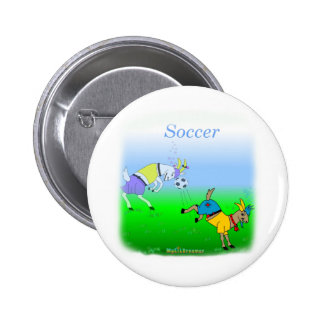 Cool soccer gifts for kids 2 inch round button