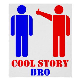 Cool Story Bro Ism Poster